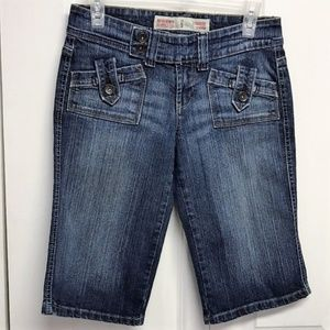 Mossimo Denim Bermuda Shorts Size Jr 5